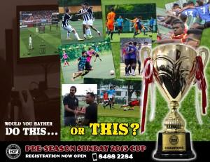 MOF Pre-Season Cup 11am 1 pm
