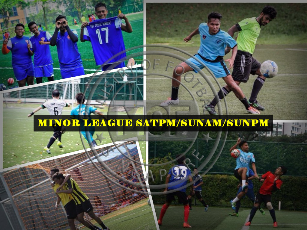 MOF MINOR FOOTBALL LEAGUE – SAT & SUNDAY!
