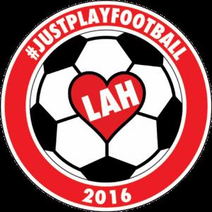 #JustPlayFootballLahlogo