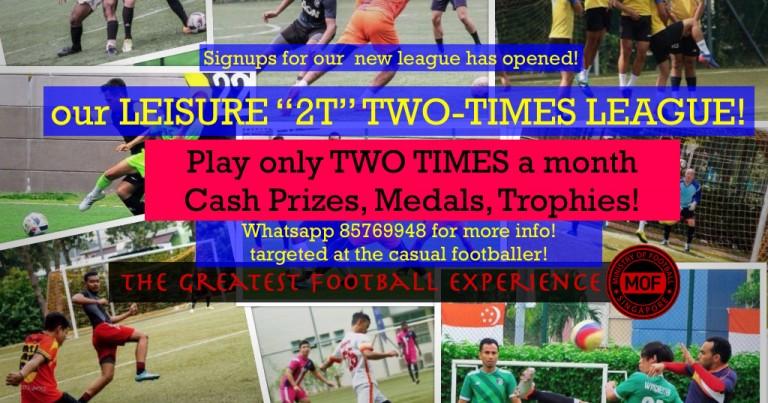 TIMESTWO Leisure League big Cash prizes